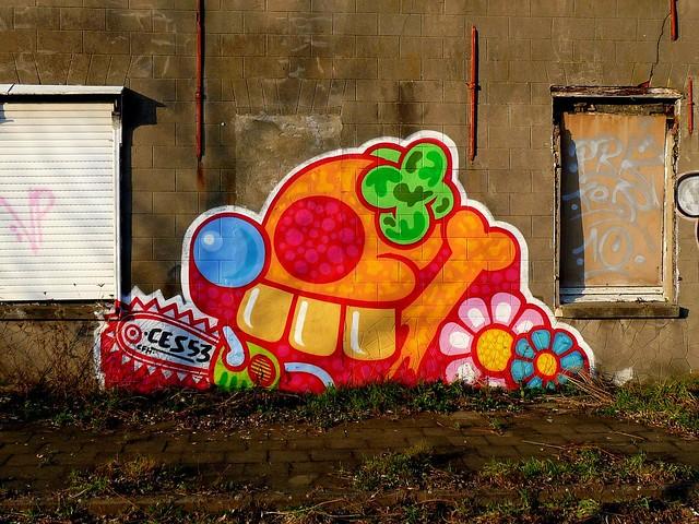 graffiti | ces53 | doel . belgium