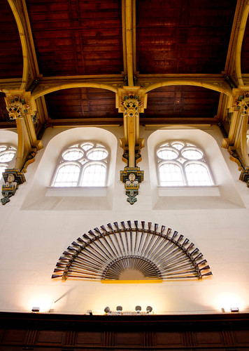 Inside Wollaton Hall