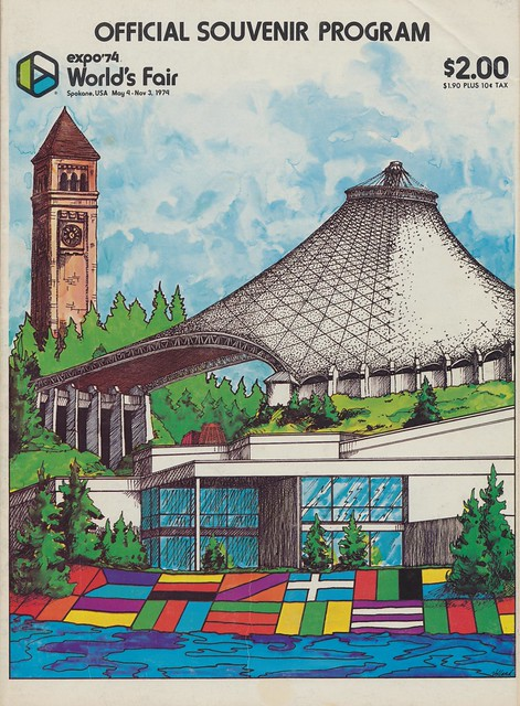 Expo '74 Offical Souvenir Program - Spokane, Washington