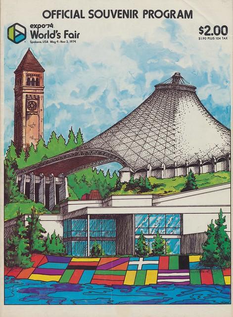 Expo 39 74 Offical Souvenir Program Spokane Washington