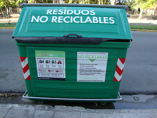 Materiales no reciclables
