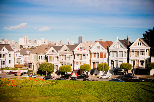 Painted ladies @ San Francisco