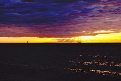 sunset australia adelaide southaustralia glenelg westbeach glenelgbeach cloudsstormssunsetssunrises phunnyfotos