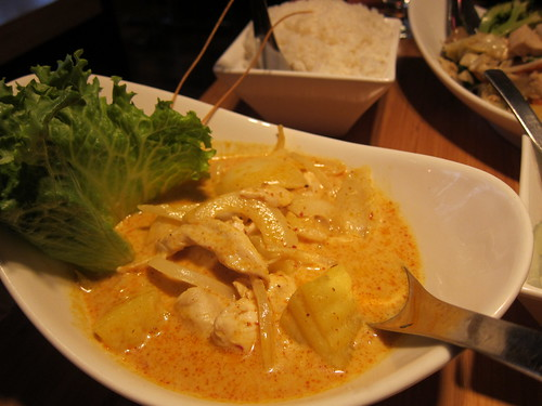 Thai food, yellow curry IMG_4690