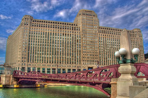 Franklin Street Bridge & Merchandise Mart