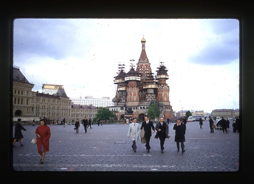 St. Basil's Cathedral, Moscow, 1969