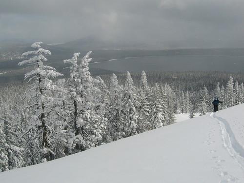 winter mountain snow ski oregon tracks cascades redtopmountain obsidians
