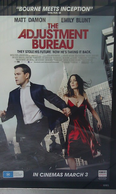 the adjustment bureau movie poster flickr photo sharing. Black Bedroom Furniture Sets. Home Design Ideas