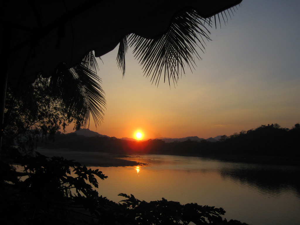 Mekong Sunset - Laos