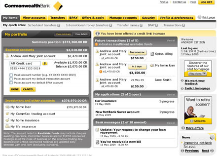 commonwealth bank help number