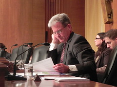 Tom Coburn speaking on health care fraud, by Medill DC, on Flickr
