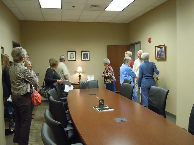 Cramped Meeting Room
