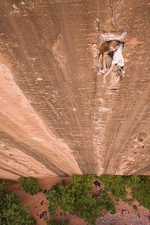 Huevos Rancheros Zion Rock Climbing Zion National Park