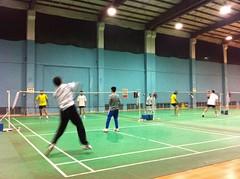Badminton Play