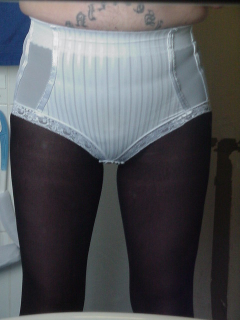 My Girdle http://www.flickr.com/photos/donnyb-uk/5519265301/