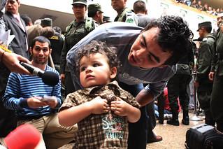 Joel Pinto, rescatado por la Policía Nacional