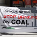 Banks put on notice for financing dirty coal