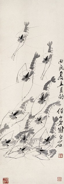 Qi Baishi: Shrimp Paintings