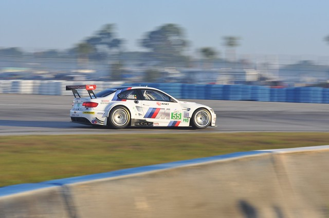 BMW M3 GT leaving turn 17