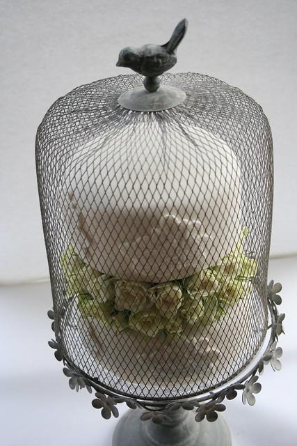 Vintage Bird Cage Decor