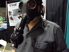 costume(0.0), headgear(0.0), personal protective equipment(1.0), clothing(1.0), gas mask(1.0), mask(1.0),