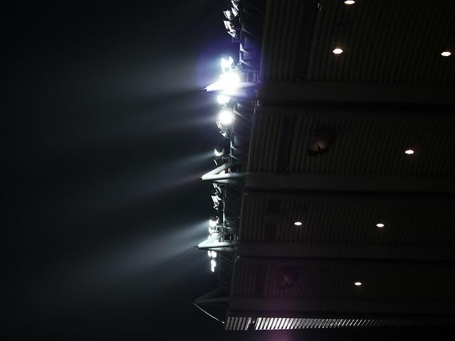 Cusack stand floodlights