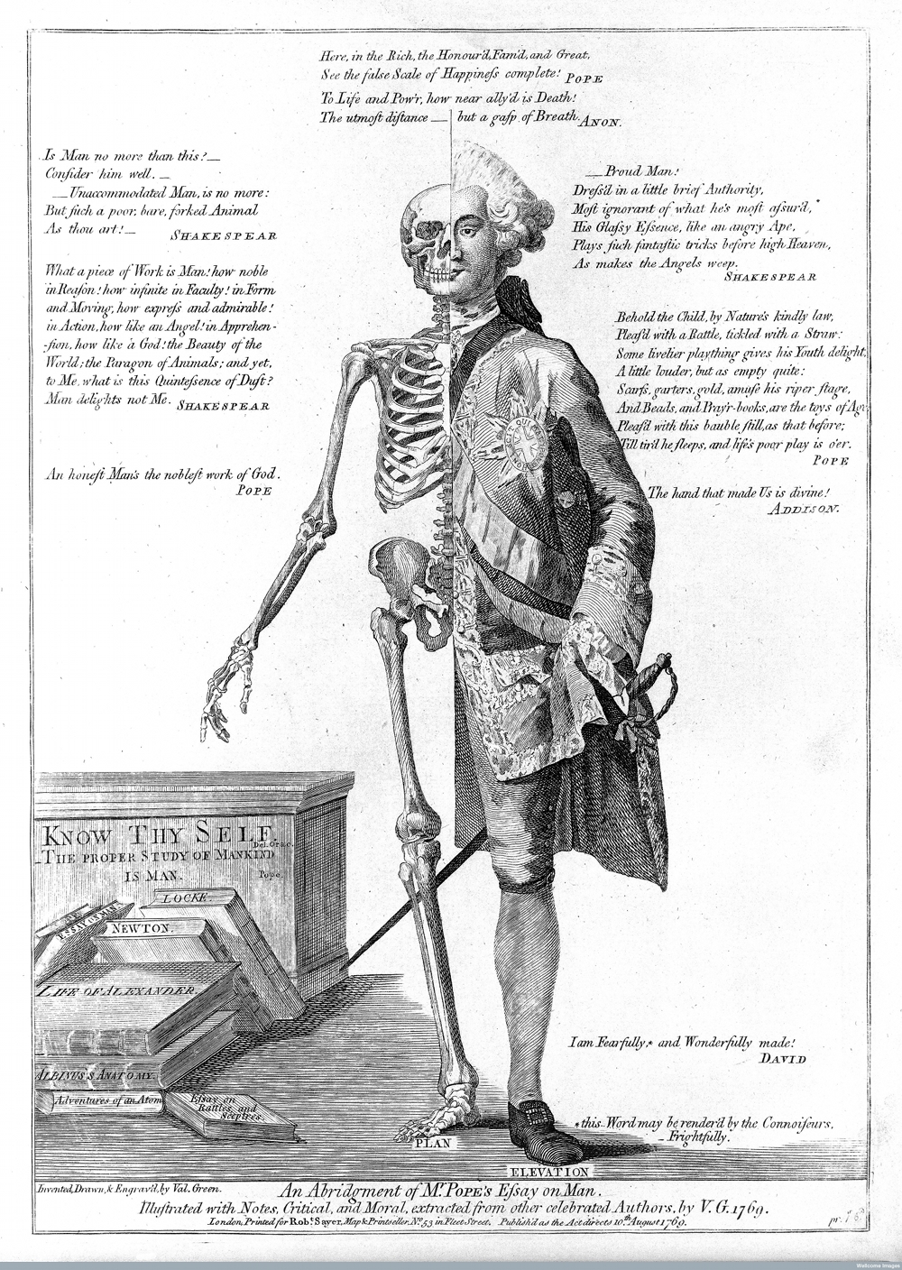 life and death contrasted ca the public review life and death contrasted ca 1770