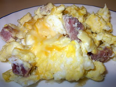 Scrambled Eggs And Ham.