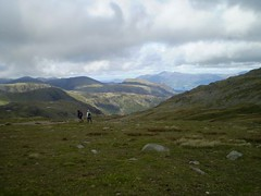 Running towards Helvellyn Image