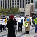 Protest against FBI infiltration and federal grand jury subpoenas of anti-war groups