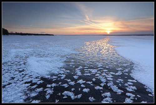 sunset sun lake ice nature water square landscape flickr vermont outdoor wideangle vt lakechamplain northhero efs1022mmf3545usm borderfx