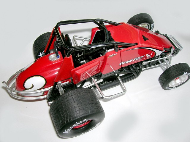 Terrifying Sprint Car Crash Of Mike Mosley