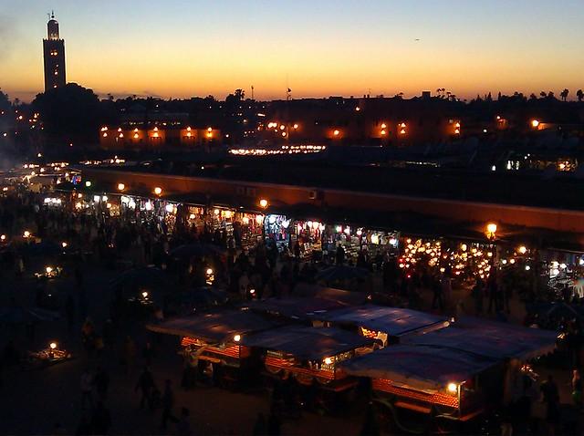 Marrakech, Morocco - Flickr CC yotut