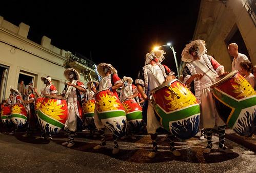 Al compás del tamboril | Las Llamadas | Carnaval 2011 | 110204-0852-jikatu