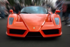 race car, automobile, vehicle, performance car, automotive design, enzo ferrari, land vehicle, supercar, sports car,