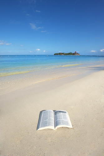 blue beach island sand paradise christ god sandals faith religion jesus jamaica bible caribbean montegobay newtestament riumontegobay romans2
