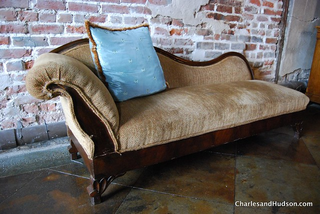 Fainting couch at latrobes flickr photo sharing for Small fainting couch