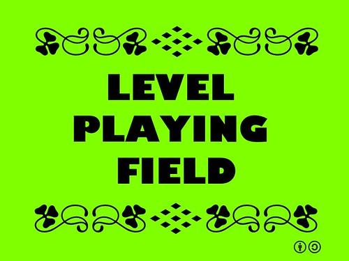 Buzzword Bingo: Level Playing Field