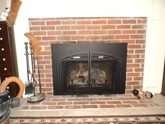 Gas Fireplace Insert Installation Flickr Photo Sharing