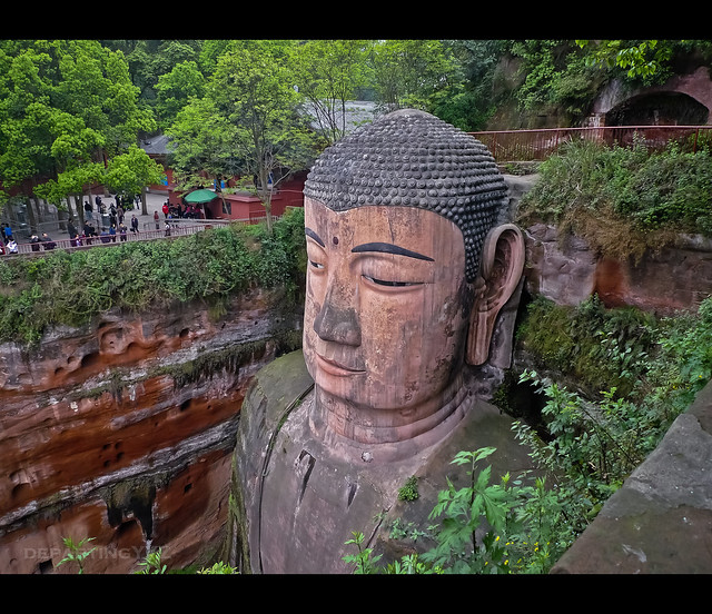 Largest Sitting Buddha in the World (Leshan, China)