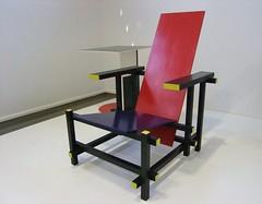 Stoel Gerrit Rietveld : Gerrit rietveld stoel kröller müller museum flickr