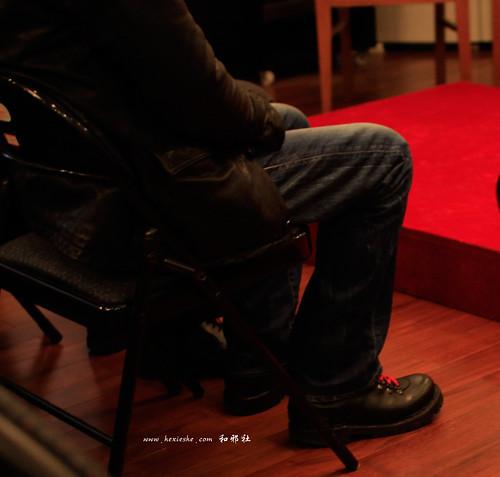神山健治的鞋