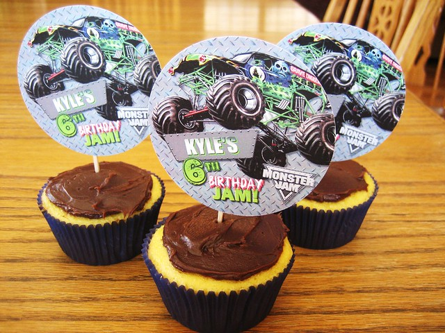 Monster Jam Birthday Cake Ideas