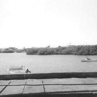 Port Hedland from old Jetty - October 1964