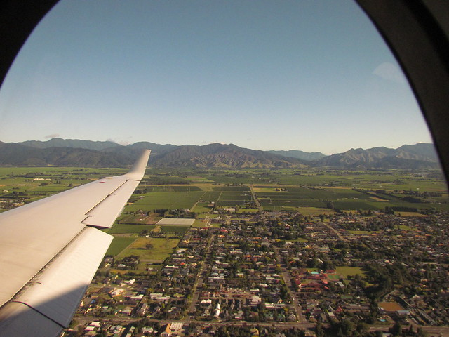 My current desktop picture: Blenheim, Marlborough and mountains