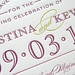 Classic Typography Save the Dates