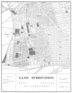 Land Subdivision, West Oakland Neighborhood (1948)