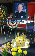 Candlelight Vigil for Fallen Los Angeles Firefighter Glenn Allen