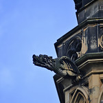 Gothic Dragon On The Scott Monument