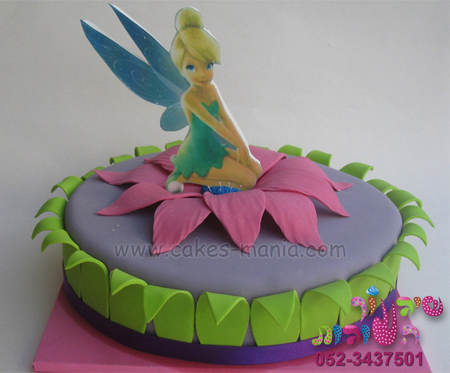 tinkerbell cake by cakes-mania עוגת טינקרבל   i made this ...